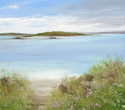 Path to the Beach, Bryher, Scillies