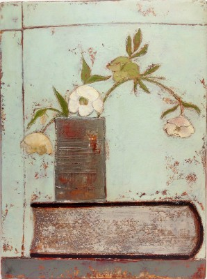 Irish Artist Anji ALLEN - Hellebore and Tin
