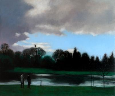 Irish Artist Brian SMYTH - The Winter Evening