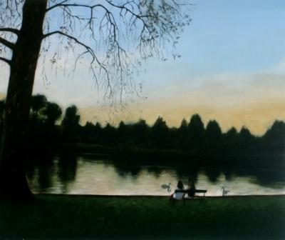 Irish Artist Brian SMYTH - By The Lough