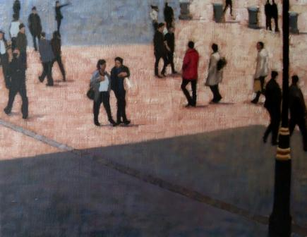 Irish Artist Brian SMYTH - On The Square