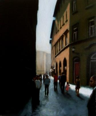 Brian SMYTH - Street In Lucca