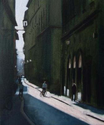 Irish Artist Brian SMYTH - Florentine Morning