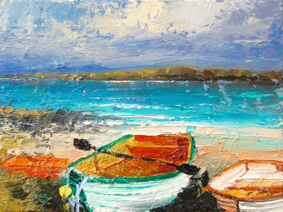 Colin CARRUTHERS - The Rowing Boat, Iona