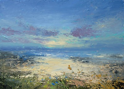 Irish Artist Colin CARRUTHERS - Evening Light