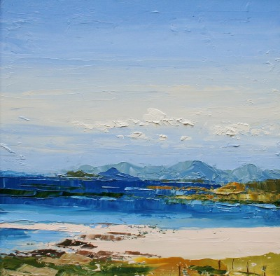 Sanna Bay painting by artist Colin CARRUTHERS