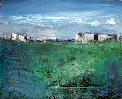 Irish Artist Cormac O'LEARY - Glenade, Winter