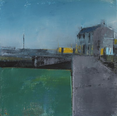 Irish Artist Cormac O'LEARY - Pier Head Winter II