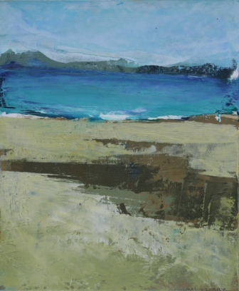 Irish Artist Cormac O'LEARY - Achill Shore