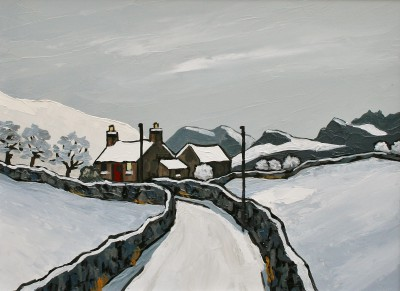 The Denbighshire Moors in Winter