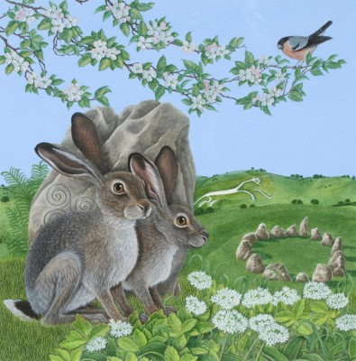 Watchful Hares
