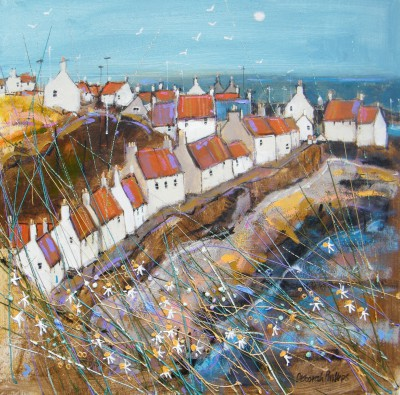 Sunny West Shore Pittenweem