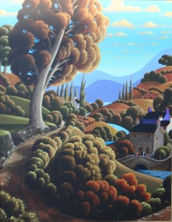 George CALLAGHAN - Down by a Flowing River