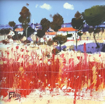 Red Fence, Provence