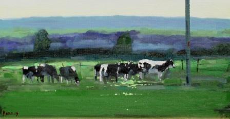 Irish Artist John MORRIS - Billy's Field