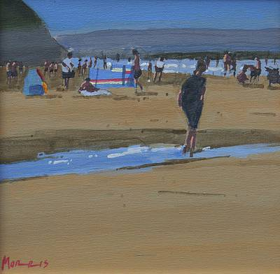 Irish Artist John MORRIS - July, Ballybunion