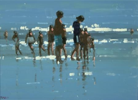 Irish Artist John MORRIS - Into The Light, Inch Beach I