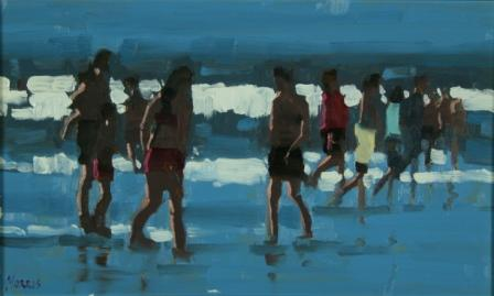 Irish Artist John MORRIS - Summer Inch Beach