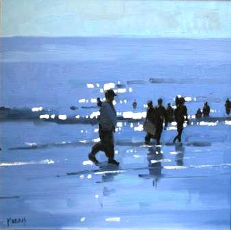 John MORRIS - Out For A Walk, Inch Beach