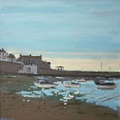 Mousehole painting by artist John MORRIS