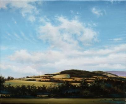 Myshal, Co Carlow painting by artist Laurence O'TOOLE