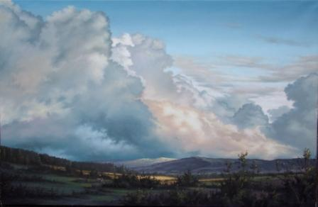 Irish Artist Laurence O'TOOLE - Empire Of The Sky