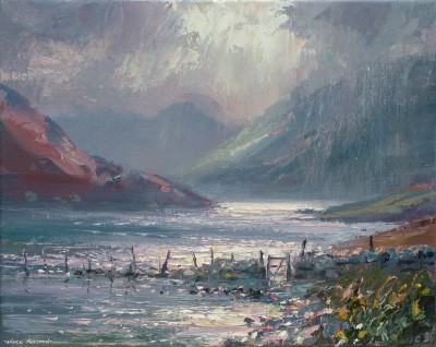 Morning Light, Crummock Water