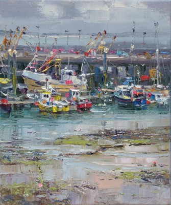 Low Tide, Newlyn Harbour