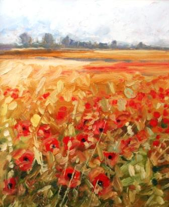 Robert LEE-WADE - Poppies II