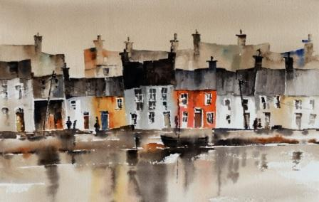 Irish Artist Val BYRNE - The Long Walk