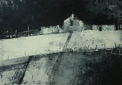 Irish Artist Cormac O'LEARY - Winter Sligo