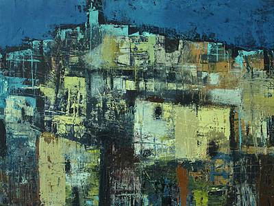 Irish Artist Cormac O'LEARY - Old Quarter